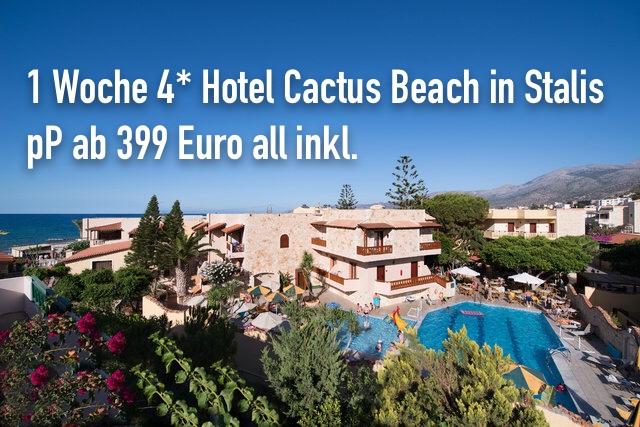 Cactus Beach Hotel Stalis