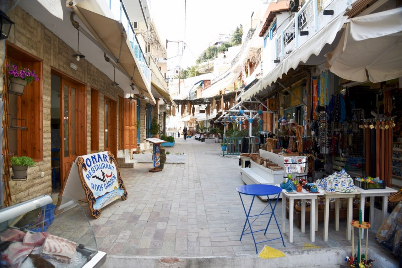 Eingang zur Taverne Onar Agia Galini
