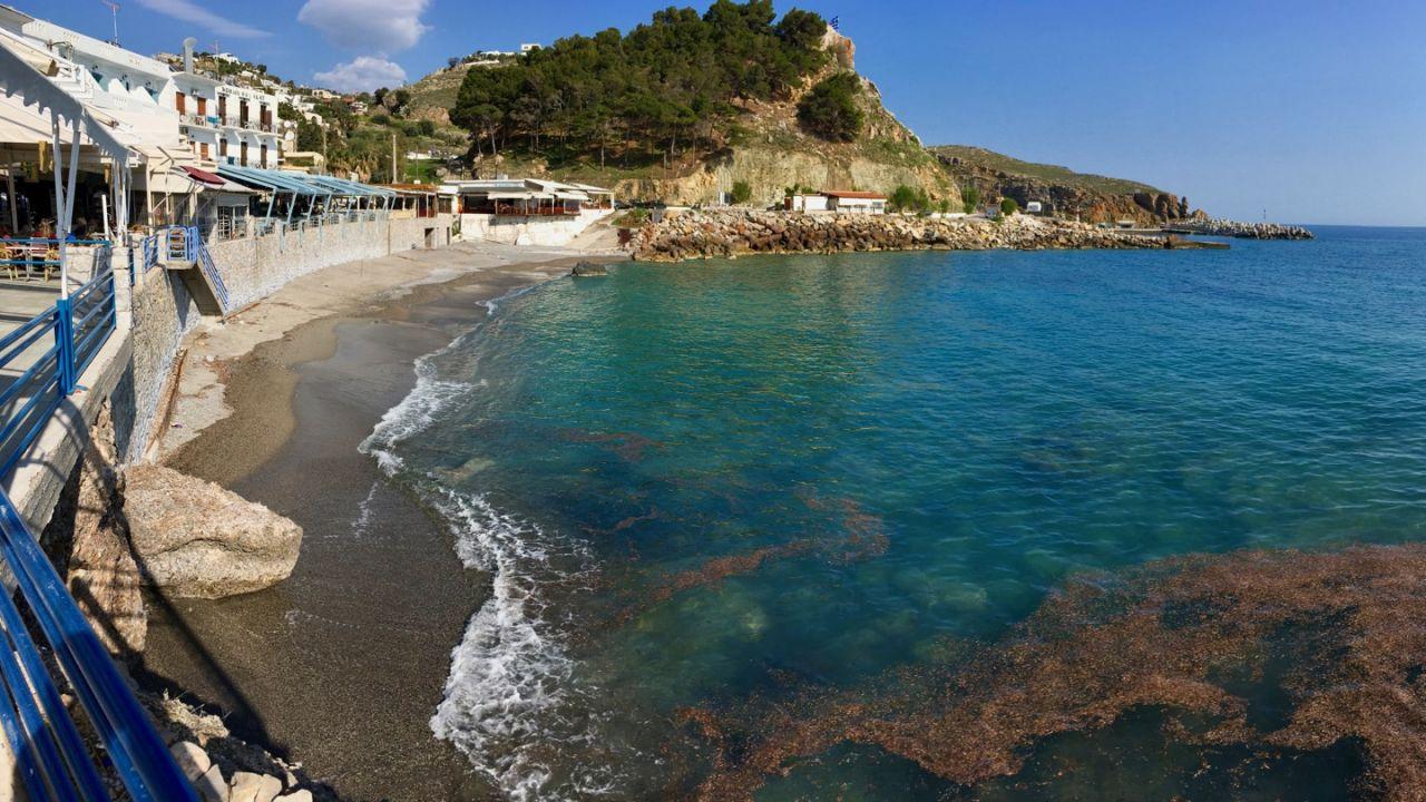 Die Bucht am Hafen von Chora Sfakion