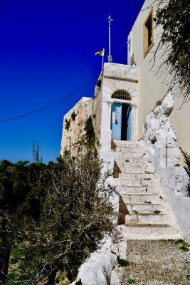 Goldene Stufe zum Chrysoslitissa Kloster