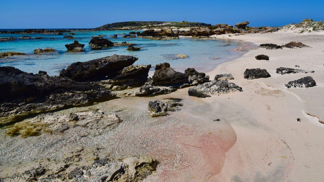 Einsame Bucht auf Elafonissi