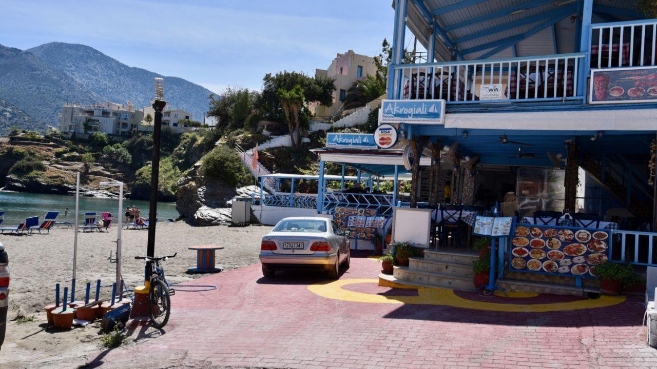 Taverne Akrogiali in Bali auf Kreta
