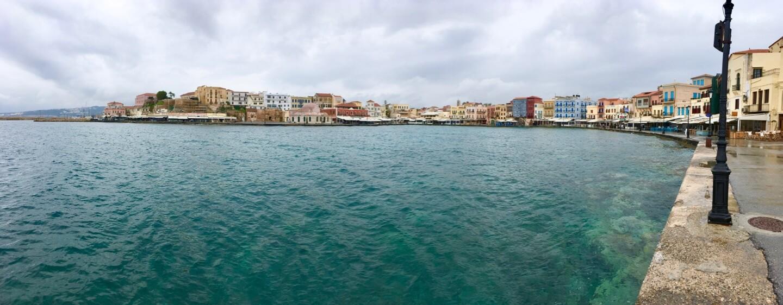 Der alte Hafen von Chania auf Kreta