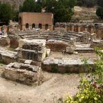 Amphietheater in Gortys