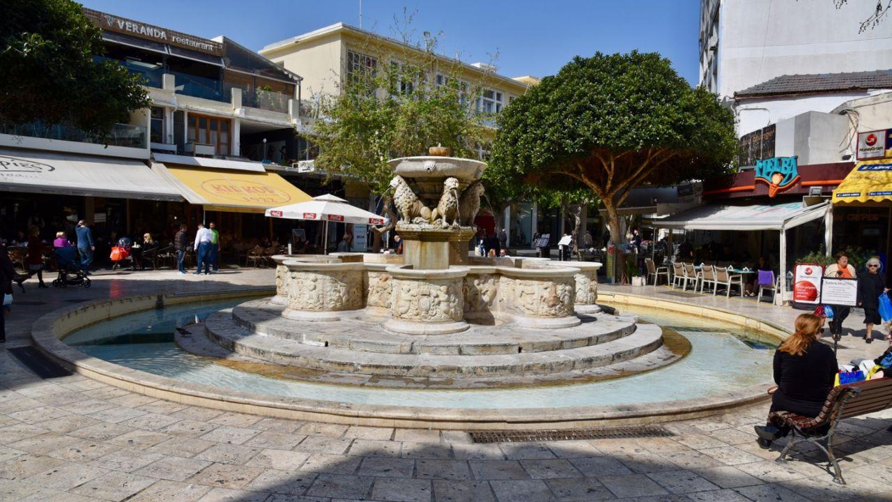 Morosini Brunnen Heraklion