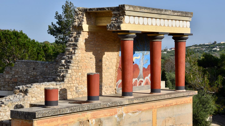 Nordeingang von Knossos