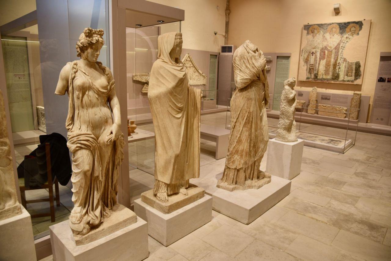 Im Archäologischen Museum von Rethymno