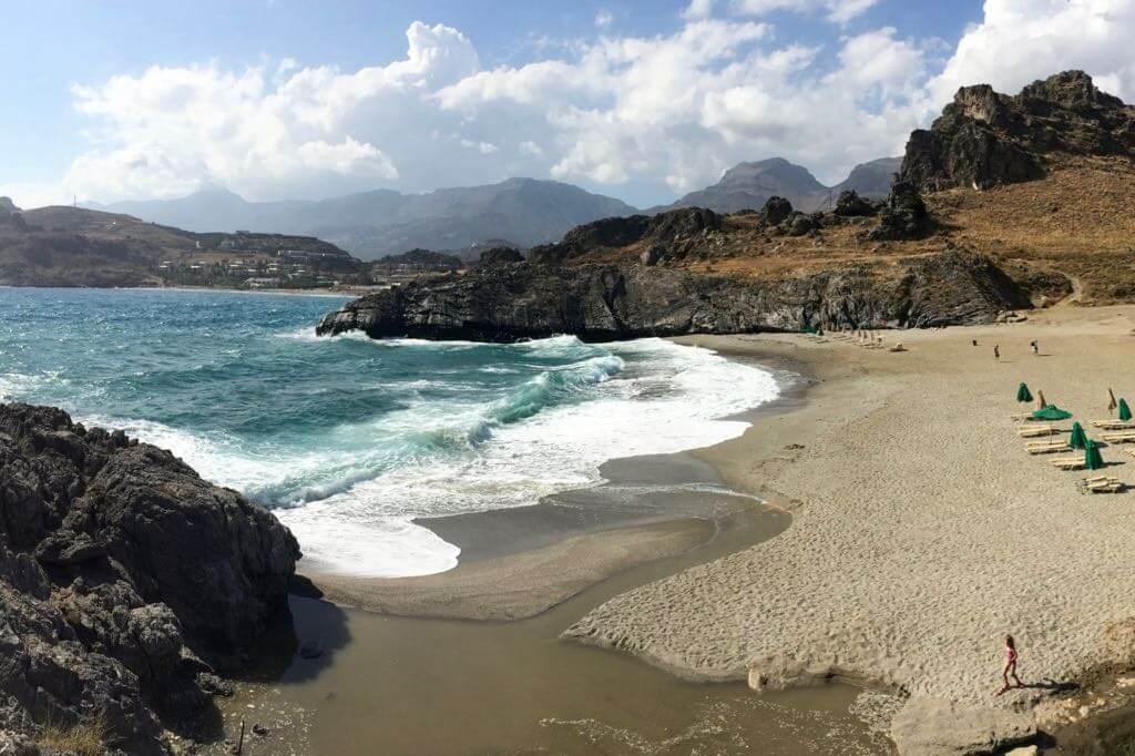Kreta Strände - Amoudi Beach