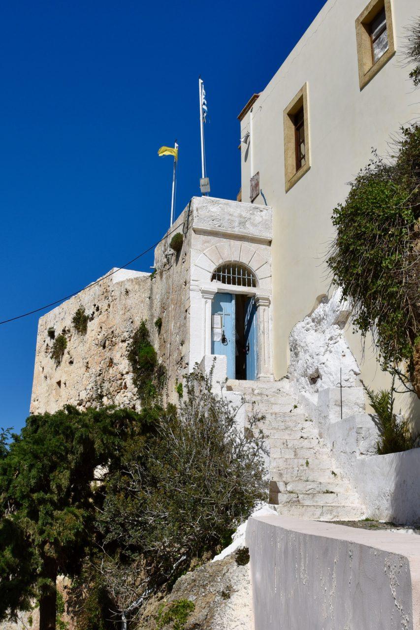 Stufen zum Chrysoskalitissa Kloster