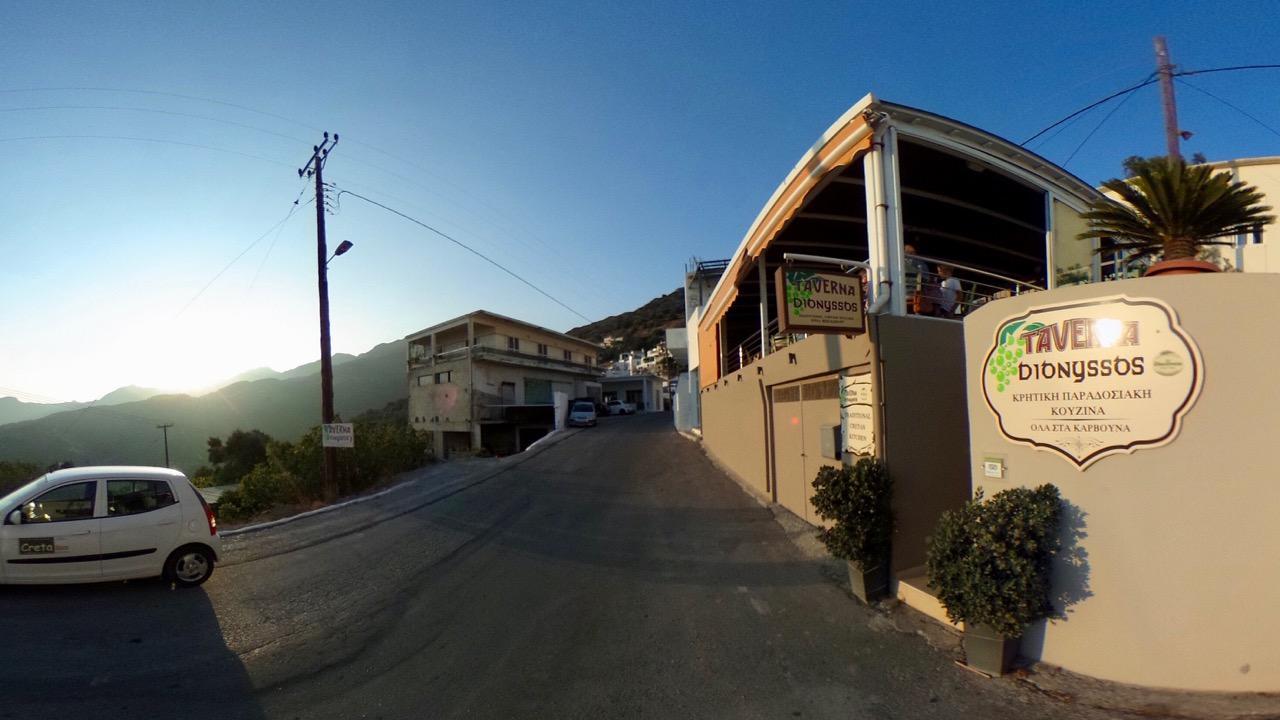 Taverne Dionyssos in Myrthios