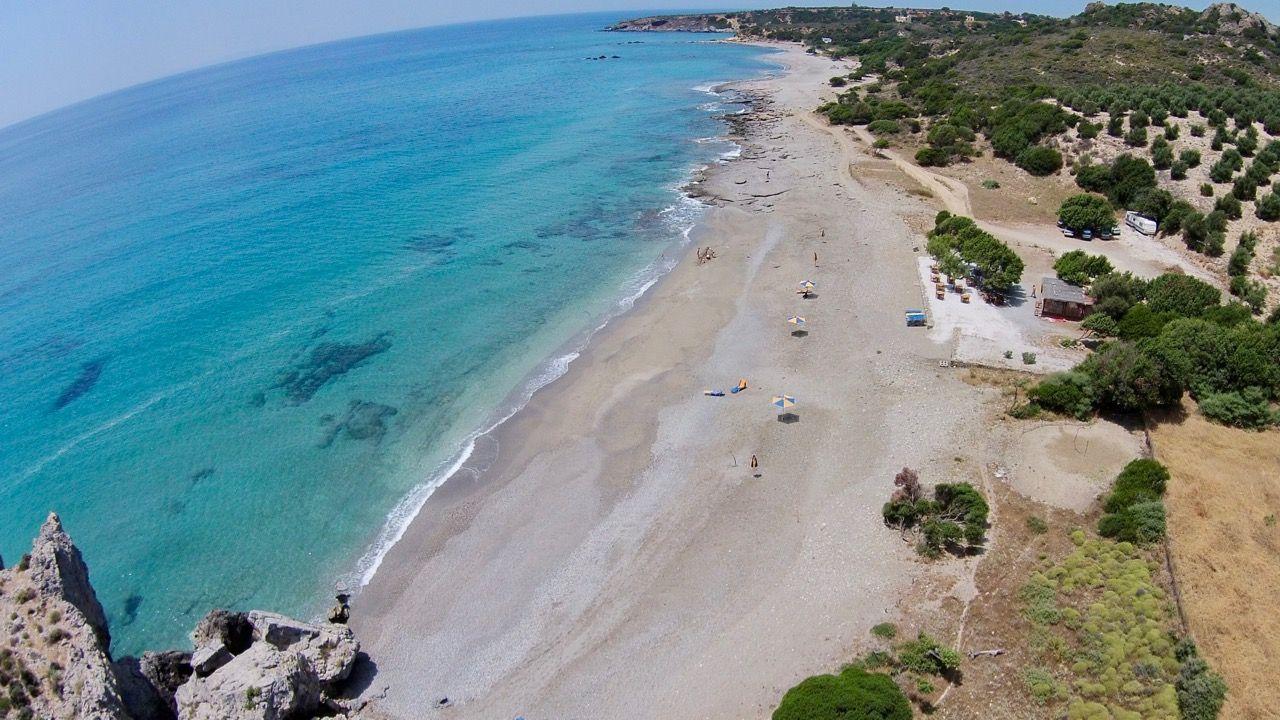 Peristeris Beach aus der Luft