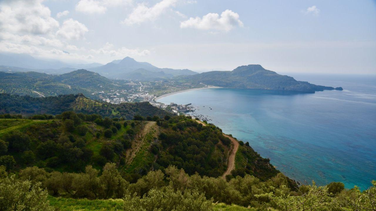 Blick auf die Bucht von Plakias