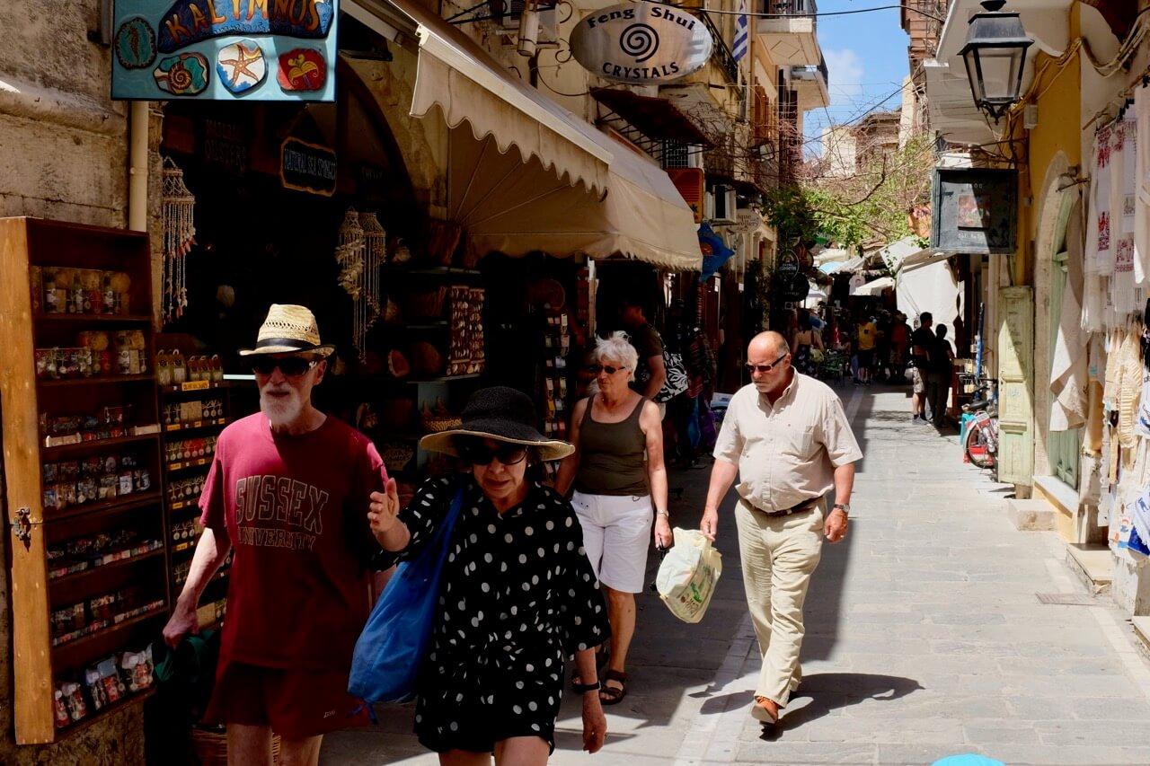 Gassen der Altstadt von Rethimno