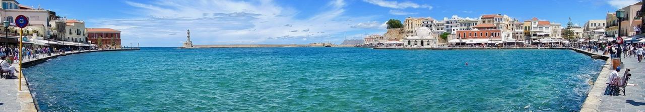 Der Hafen von Chania