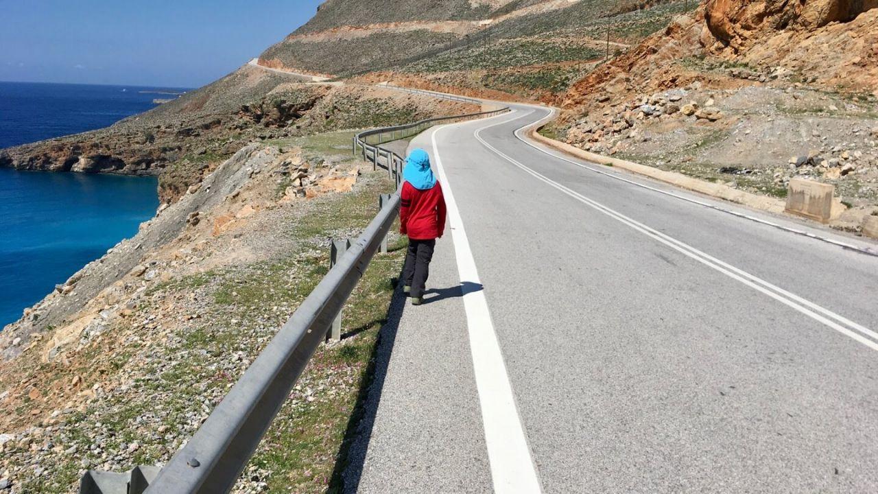 Straße nach Anopoli